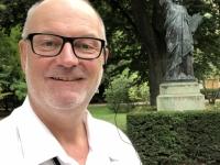 2019 08 06 Paris Jardin du Luxembourg mit Kopie der Freiheitsstatue