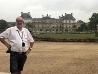 2019 08 06 Paris Jardin du Luxembourg mit Palais du Luxembourg