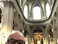 2019 08 06 Paris Kirche St Sulpice Drehort für den Film Da Vinci Code