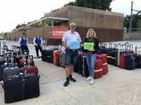 2019 08 07 Paris Koffer sind bereit für Heimflug