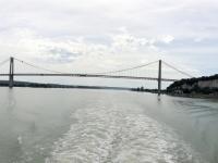 2019 08 03 Brücke von Tancarville