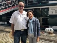 2019 08 03 Honfleur Reiseleiterin Michele