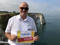 2019 08 02 Etretat Elefantenfelsen Reisewelt on Tour 1