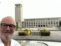 Frankreich Le Havre Unesco Rathaus