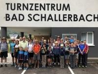 Gruppenfoto vor dem ÖTB Bad Schallerbach