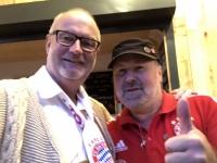2019 08 15 30 Jahre Fanclub FC Bayern Natternbach mit Obmann_Stv Zlatko