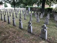 Militärfriedhof in Mauthausen