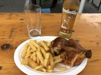 Perfektes Mittagessen am Hauptplatz in Perg