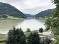 Erster Blick auf die Donau