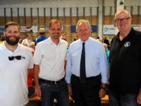 Bürgermeister und Landtagspräsident