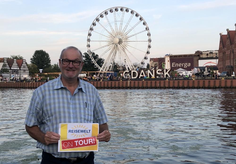 2019 08 23 Danzig Vergnügungspark Reisewelt on Tour