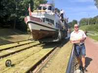 2019 08 24 Buczyniec Elblag Kanal Reisewelt on Tour