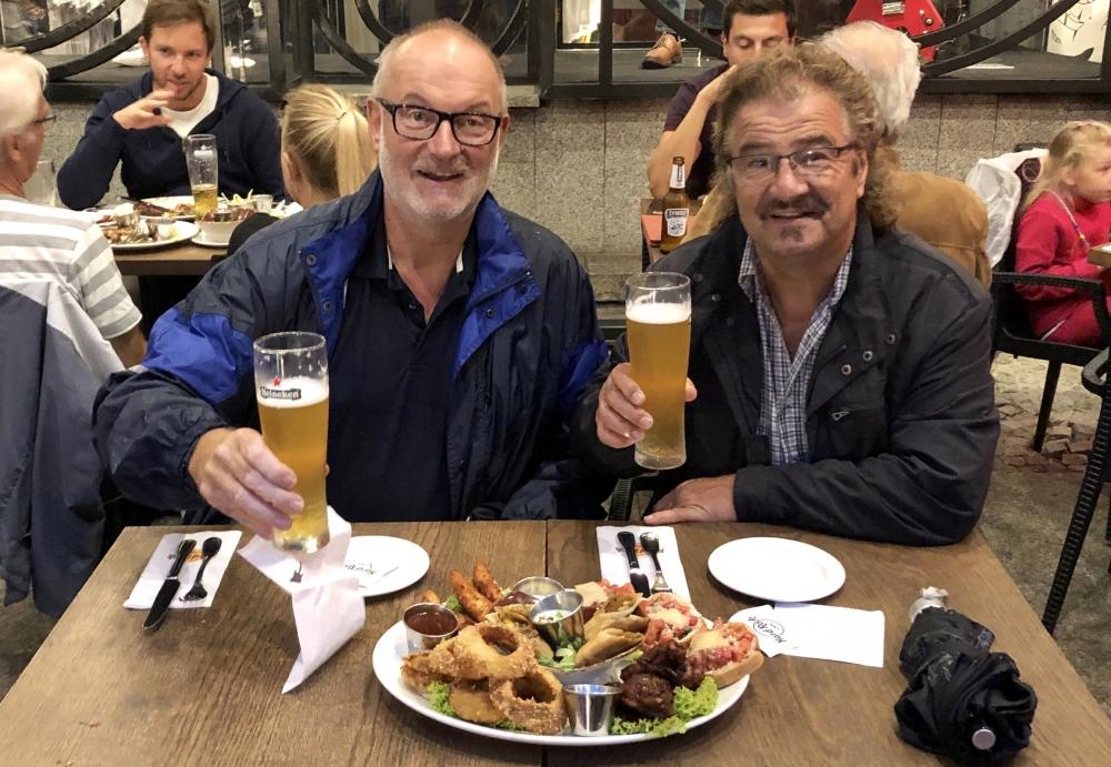 2019 08 20 Breslau Hard Rock Cafe Jumbo Combo Platte