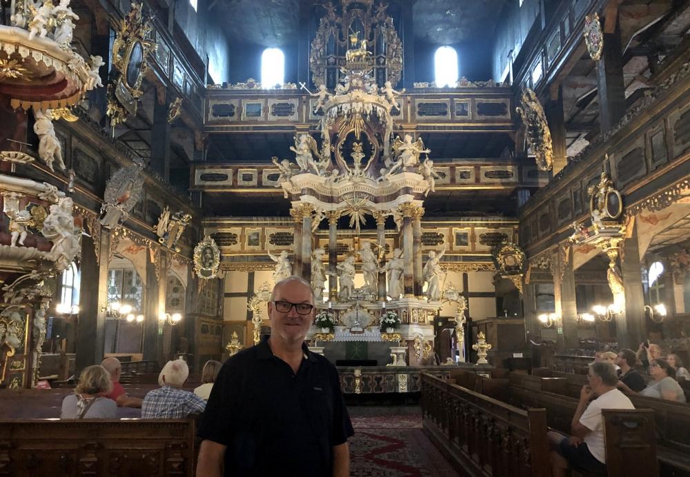 2019 08 20 Swidnica Unesco Friedenskirche innen