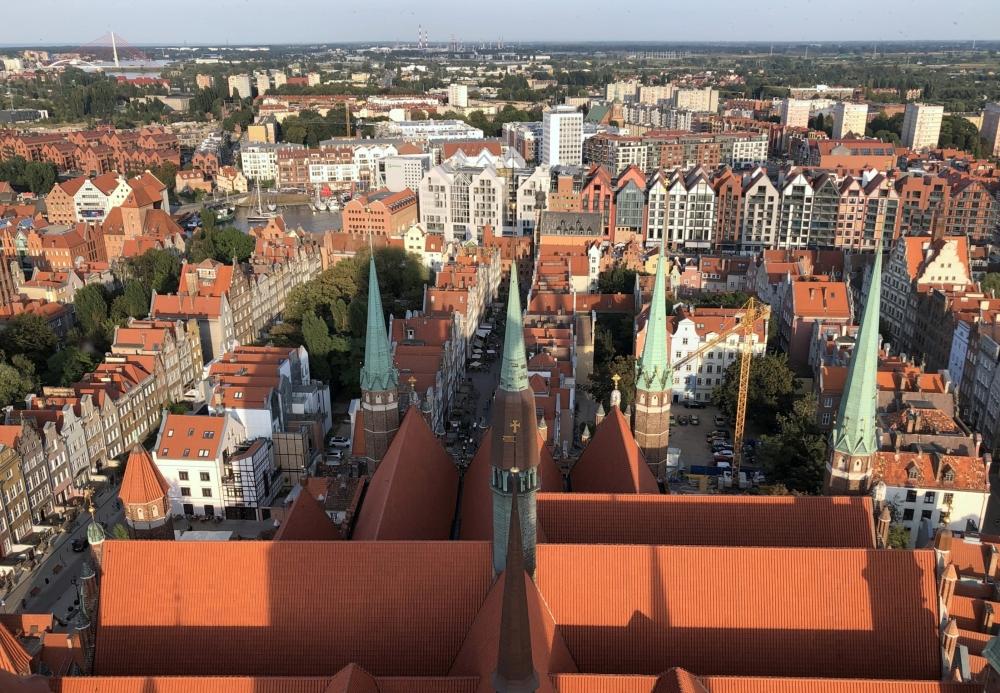 2019 08 23 Danzig Blick von Marienkirche