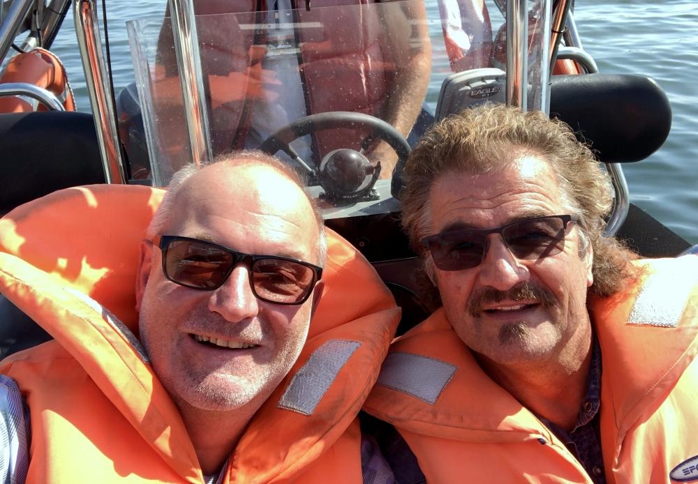 2019 08 23 Sopot Speedbootfahrt in Danzinger Bucht