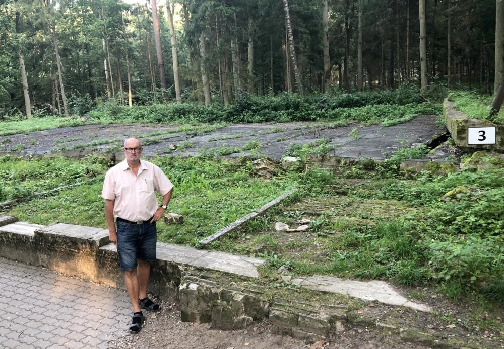 2019 08 24 Görlitz Führerhauptquartier Wolfsschanze hier stand die Baracke vom Attentat 1944