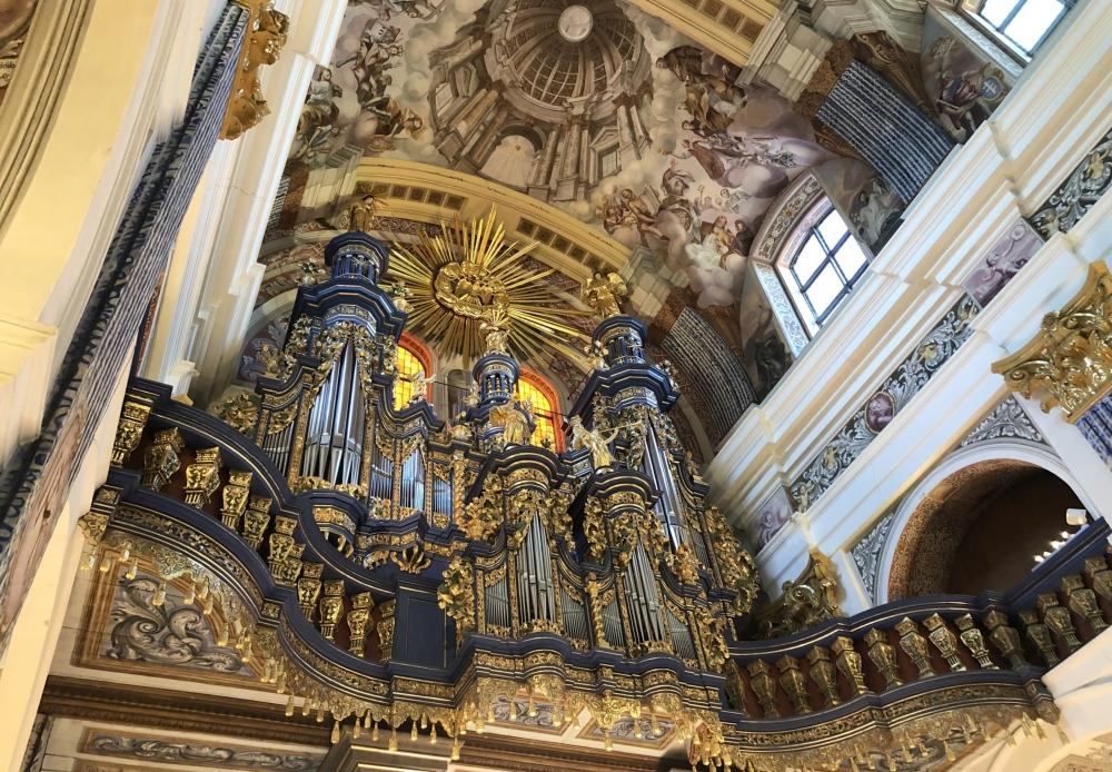 2019 08 24 Heiligelinde Orgel in Wallfahrtskirche