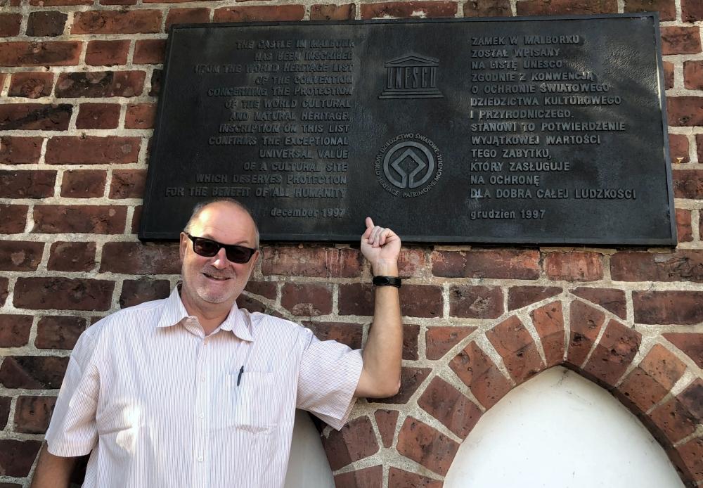 2019 08 24 Marienburg Unesco Tafel