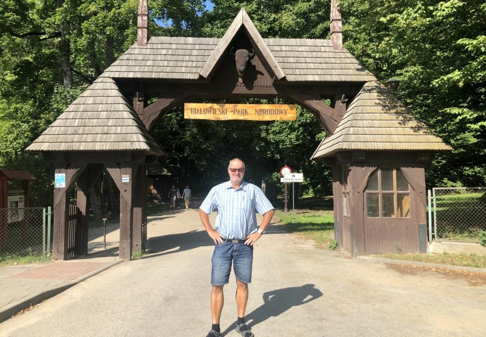 2019 08 26 Bialowieska Nationalpark Eingang