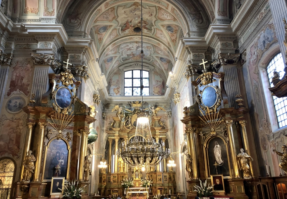 2019 08 26 Warschau Kirche Hl Kreuz