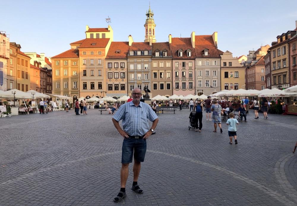 2019 08 26 Warschau altstädtischer Markt Unesco Weltkulturerbe