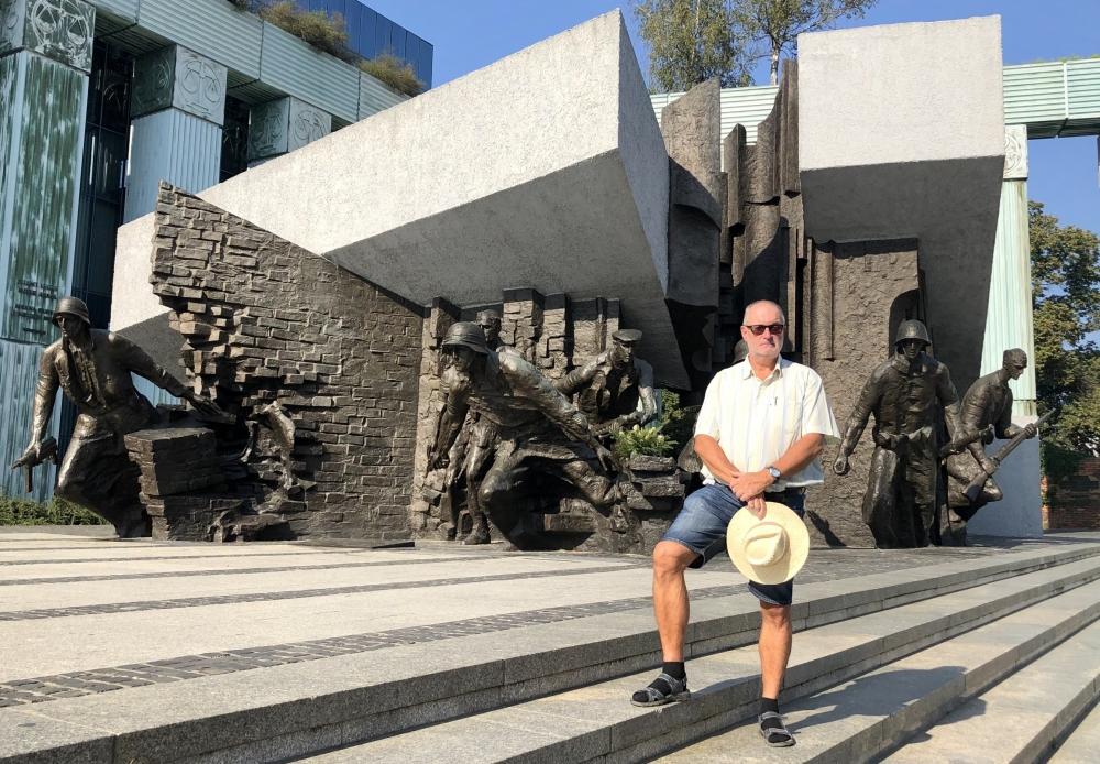 2019 08 27 Warschau Denkmal Warschauer Aufstand