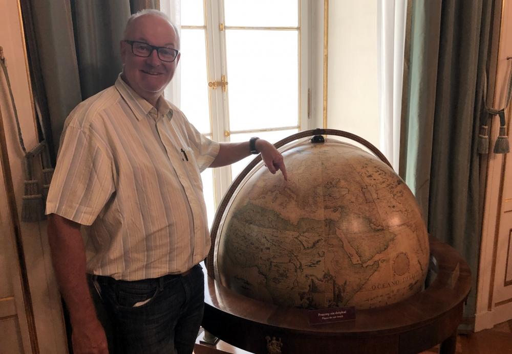 2019 08 27 Warschau Königsschloss Globus
