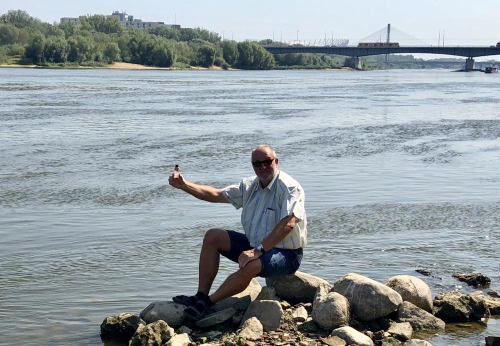 2019 08 27 Warschau Wasserentnahme Floss Weichel
