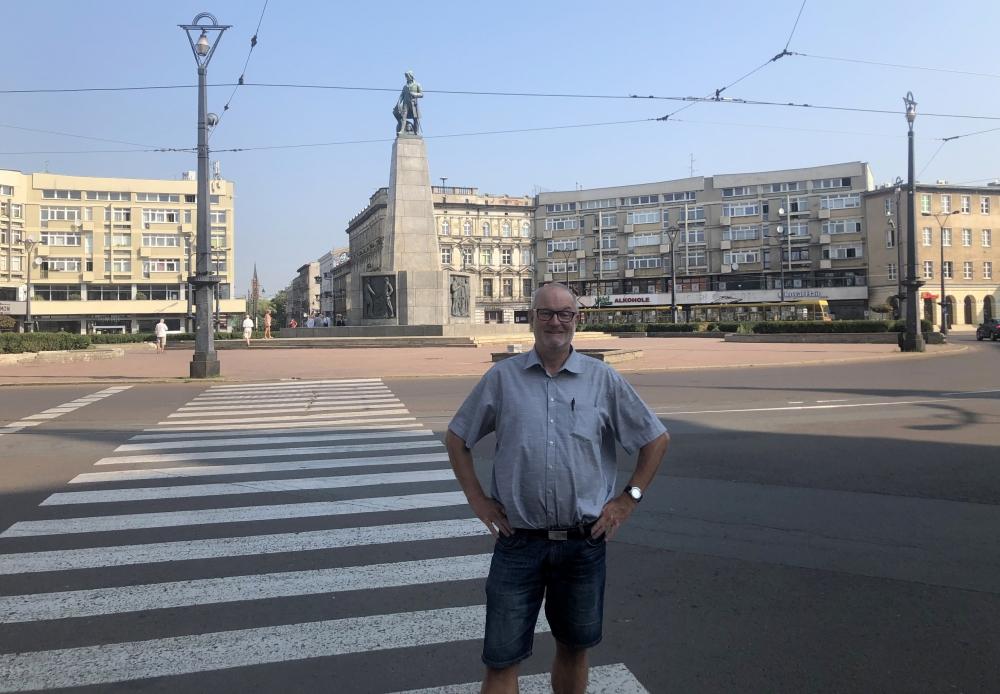 2019 08 28 Lodz Stadtplatz