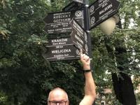 2019 08 20 Jawor Unesco Wegweiser in Polen