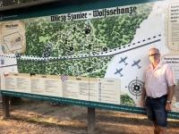 2019 08 24 Görlitz Führerhauptquartier Wolfsschanze Übersichtstafel