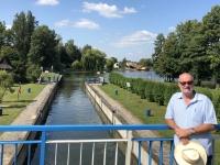 2019 08 25 Augustow Kanal mit Schleuse