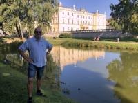 2019 08 25 Bialystok Branicki Palast Gartenseite