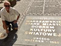 2019 08 27 Warschau Unesco Tafel
