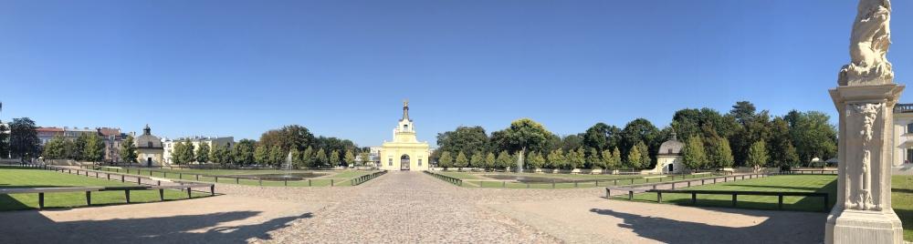 2019 08 25 Bialystok wunderschöner Garten
