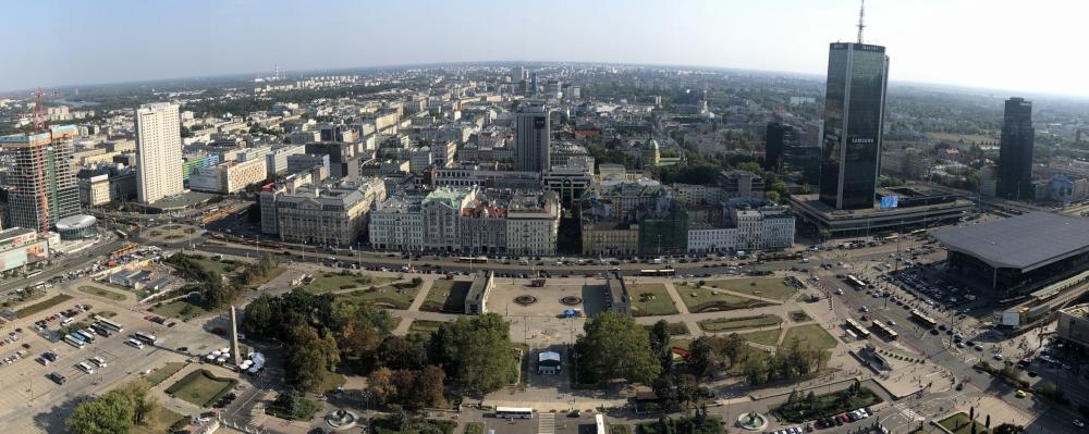 2019 08 26 Warschau Blick vom Kulturpalast 1