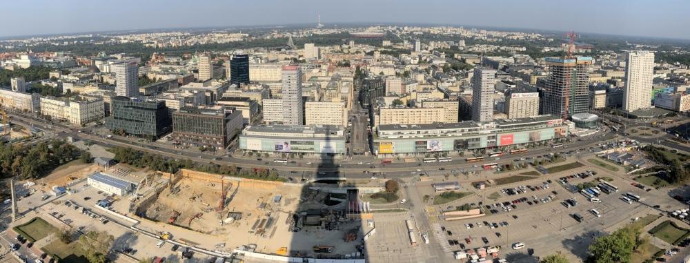 2019 08 26 Warschau Blick vom Kulturpalast 2