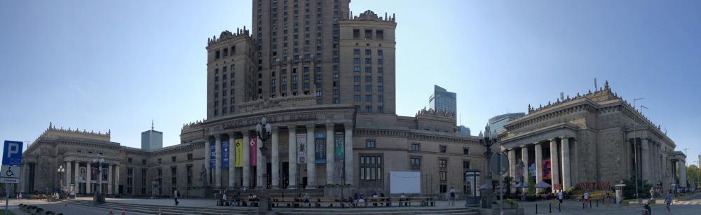 2019 08 26 Warschau Platz vor Kulturpalast