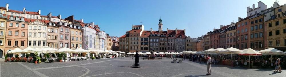 2019 08 26 Warschau altstädtischer Markt