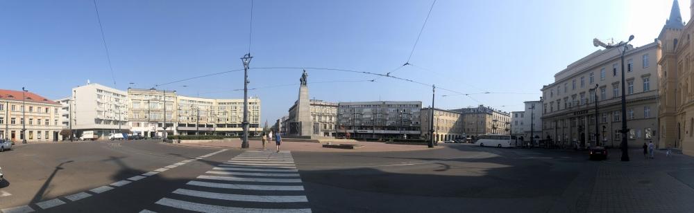 2019 08 28 Lodz mit Stadtplatz