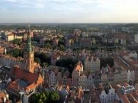2019 08 23 Danzig Panoramablick von Marienkirche