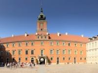 2019 08 27 Warschau Königsschloss Innenhof