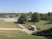 2019 08 27 Warschau Park Richtung Fluss Weichsel