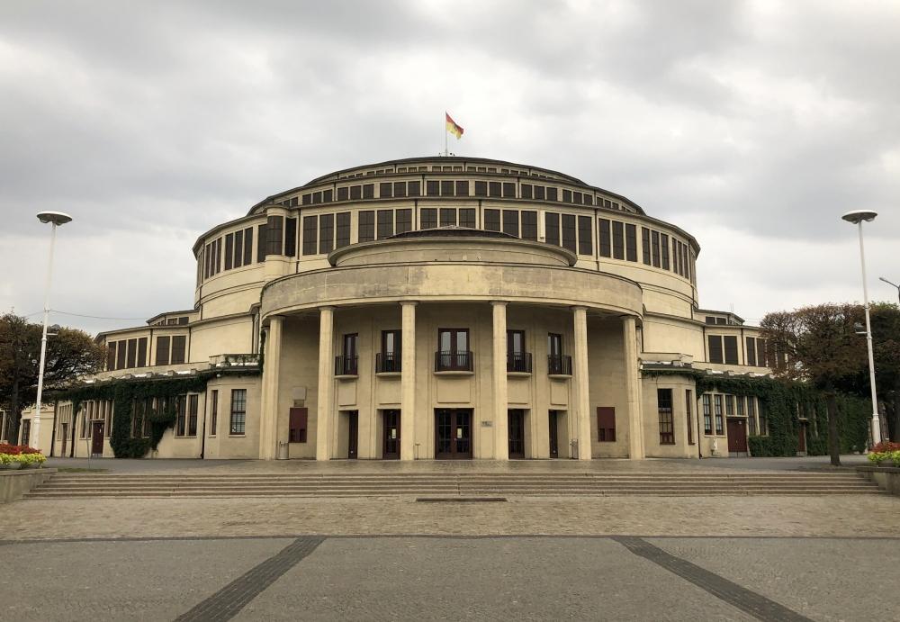 2019 08 20 Breslau Unesco Jahrhunderthalle Kopfbild