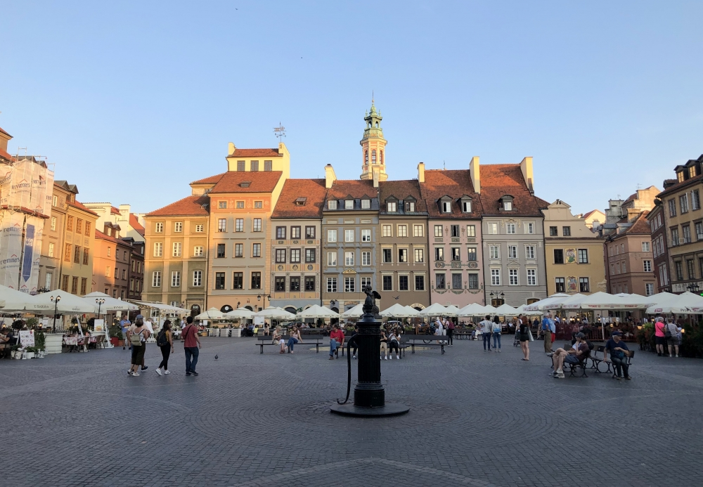 2019 08 26 Warschau altstädtischer Markt Unesco Weltkulturerbe Kopfbild