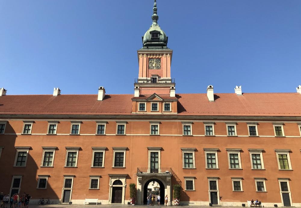 2019 08 27 Warschau Königsschloss Unesco Kopfbild