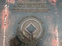 2019 08 20 Breslau Unesco Jahrhunderthalle Tafel 1