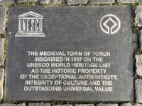 2019 08 22 Torun Unesco Altstadt Tafel 1