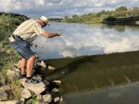 Wasserentnahme Fluss Warthe